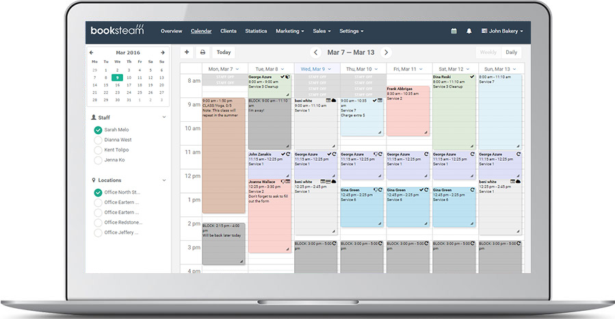 BookSteam Online Appointment Scheduling Software | Free Trial Sign Up